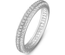 . Damen-Damenring Ring aus Sterling 925er 158 Zirkonia ' '