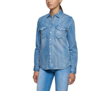 Blusen blue denim