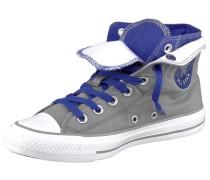 Two Fold Sneaker grau / dunkellila