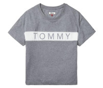 Hilfiger Denim T-Shirt »Thdw CN T-Shirt S/S 26« grau