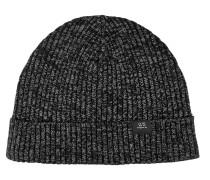 Mütze schwarzmeliert