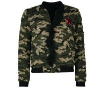 Textillblouson in Camouflage-Optik Mt17-222 ' ' mischfarben
