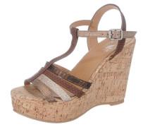 Sandaletten braun / bronze