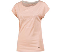 Jacks Base T-Shirt Damen rosa