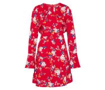 Kleid 'Asta' blau / rot