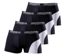 Packung: Boxer Authentic Underwear (4 Stck.) schwarz