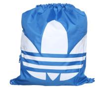 Sportbeutel mit Logoprint blau