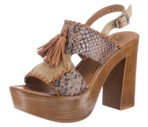 Sandaletten chamois