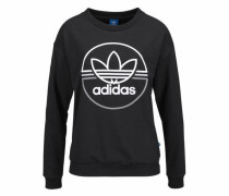 Sweatshirt »Light Sweatshirt« schwarz / weiß