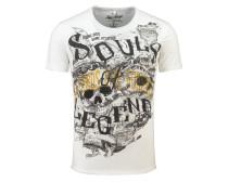 T-Shirt 'MT Soul Legends' weiß