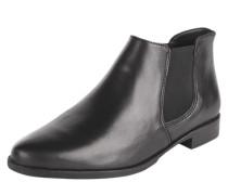 Kurze Chelsea-Boots schwarz