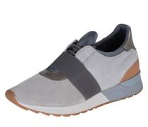 Sneakers mit Gummizug grau