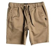 Chino Shorts 'Fonic' dunkelbeige