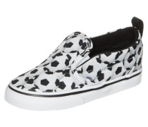 Slip-On V Sports Sneaker Kleinkinder schwarz