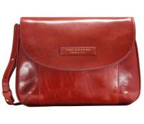 Passpartout Donna Leder Mini Bag Umhängetasche 27 cm rot