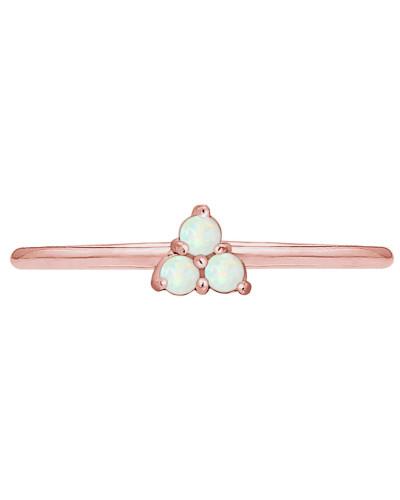 Ring 'Opal' opal / rosegold