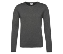 Pullover 'plated Pullover 9gg' graumeliert