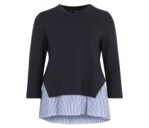 Sweatshirt 'Aura' hellblau / schwarz