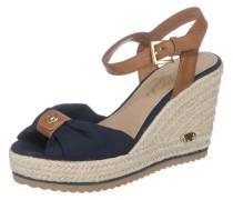 Sandaletten blau