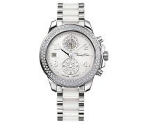 Chronograph »Glam Chrono Wa0184« silber / perlweiß