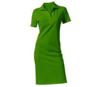 Polokleid grün