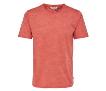 T-Shirt Bedrucktes rot
