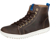 'Bartlett' Men Sneakers weit braun / dunkelbraun