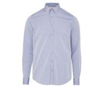 Hemd mit Punkten hellblau