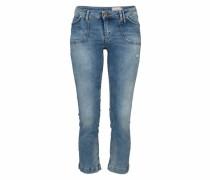 Denim 7/8-Jeans blau