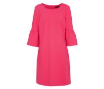 Volant Kleid pink
