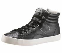 Sneaker 'Clinton Mesh' schwarz / silber