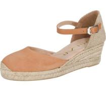 Sandaletten 'Cisca' kitt / hellbraun