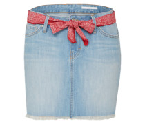 Jeans Minirock blue denim