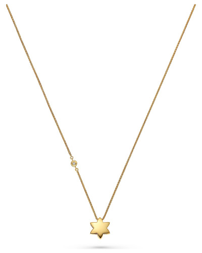 Diamonds Kette '87492371' gold