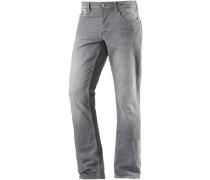Slim Fit Jeans Herren grey denim