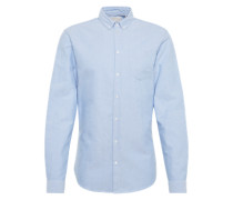Hemd 'Jay long sleeved shirt' hellblau