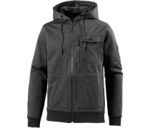 'quadrant ZIP UP' Kapuzenjacke Herren graphit