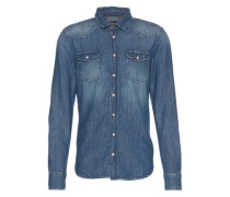 Jeanshemd 'rohan Shirt' blue denim