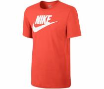 Rundhalsshirt » Tee-Futura Icon« orange