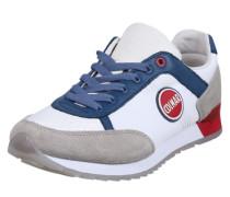 Sneaker 'Travis Originals' beige / blau / rot / weiß