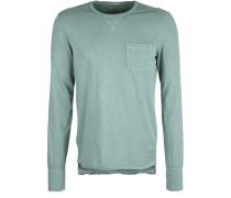 Longsleeve 'pocket Pigment' grün