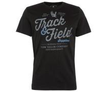 T-Shirt T-Shirt mit Schrift-Print