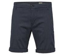 Chino-Shorts kobaltblau