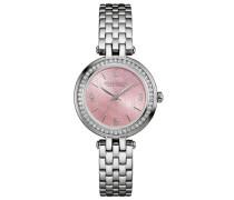 Armbanduhr »Perfectly Petit 43L193« rosa / silber