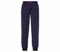 Pyjamahose nachtblau