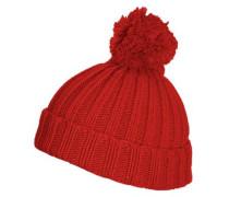 Mütze Bommel rot