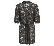 Spitzen-Kimono schwarz