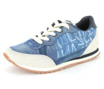 Sneaker Textil blau