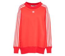 Sweater 'crew' rot / weiß