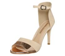 High Heel Sandalette beige